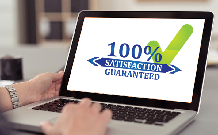 100% Satisfaction Guarantee 2